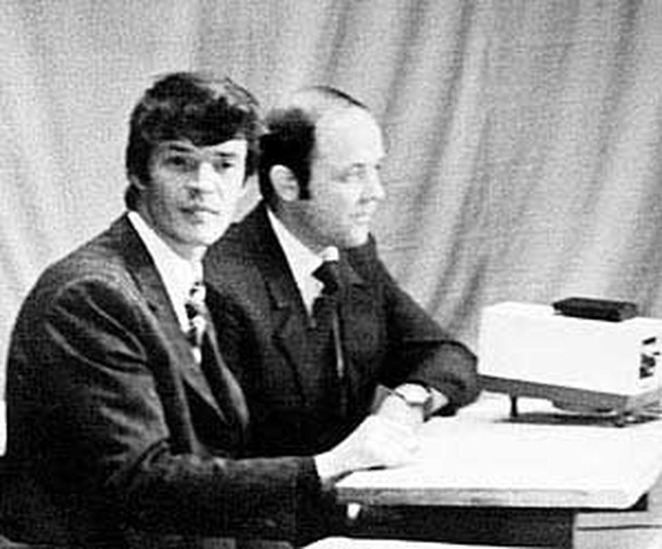 Юрий Сенкевич и Станислав Пожлаков сдружились из-за любви к музыке.