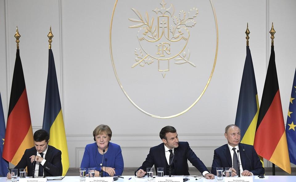 Россия опровергла слова Зеленского о скорой встрече «нормандской четвёрки»