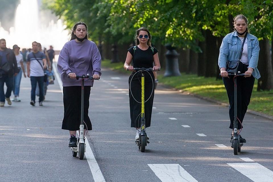 Электросамокаты в ЦПКиО - все. Только пешком или на велосипеде, и не разгоняться