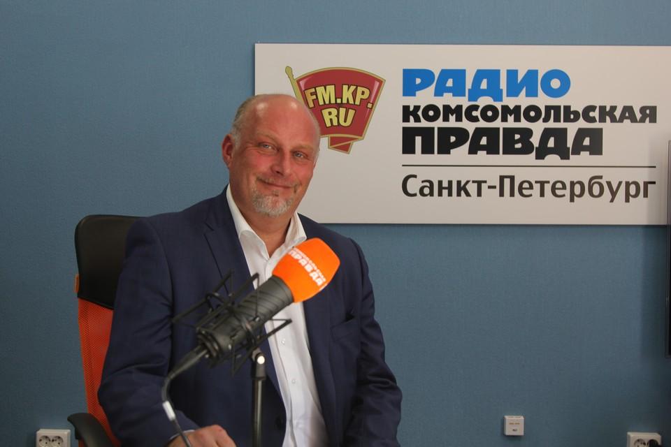 Председатель комитета по развитию туризма Сергей Корнеев на Радио КП.