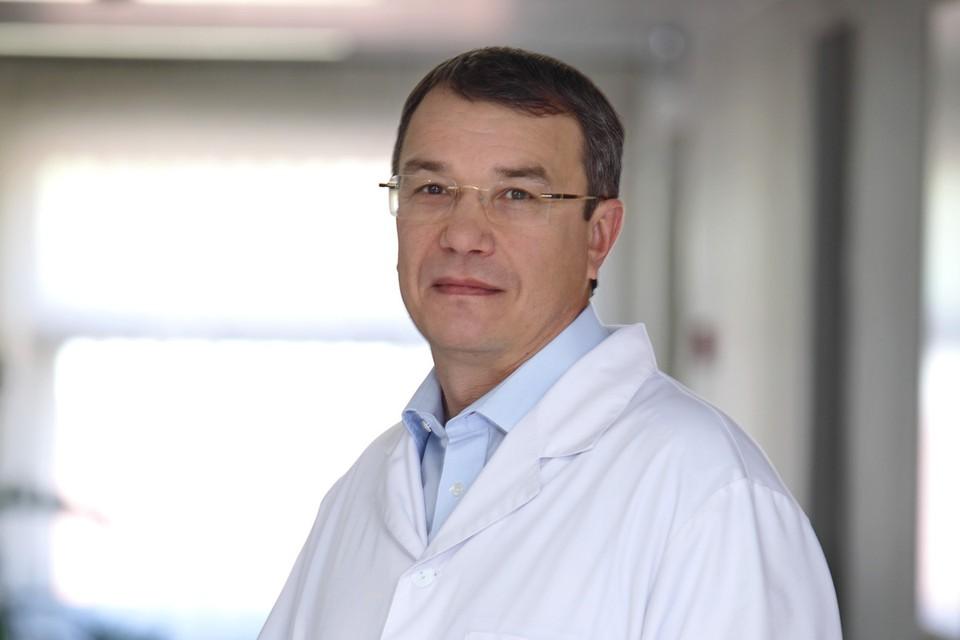 Генеральный директор Екатеринбургского центра МНТК «Микрохирургия глаза» Олег Шиловских.