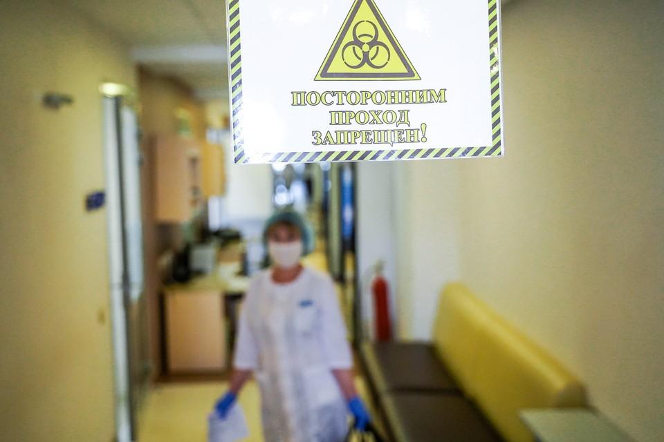Чудо-спрей испытывали в ковидных госпиталях