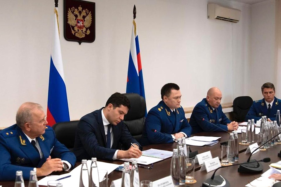 Генпрокурор России провел встречу с представителями регионального бизнес-сообщества. В этом мероприятии принял участие губернатор Антон Алиханов.
