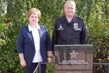 В селе Кучки открыли памятник летчикам, погибшим в годы Великой Отечественной войне
