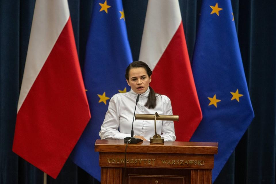Тихановская призвала не рассматривать ее как будущего президента