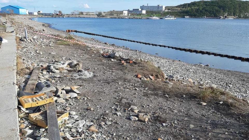 Пляж в бухте Патрокл оцепили