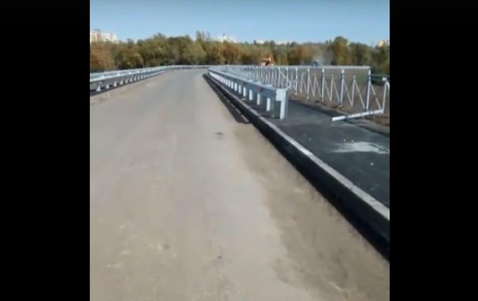 "Скриншот видео (""Аварийный Омск"")"