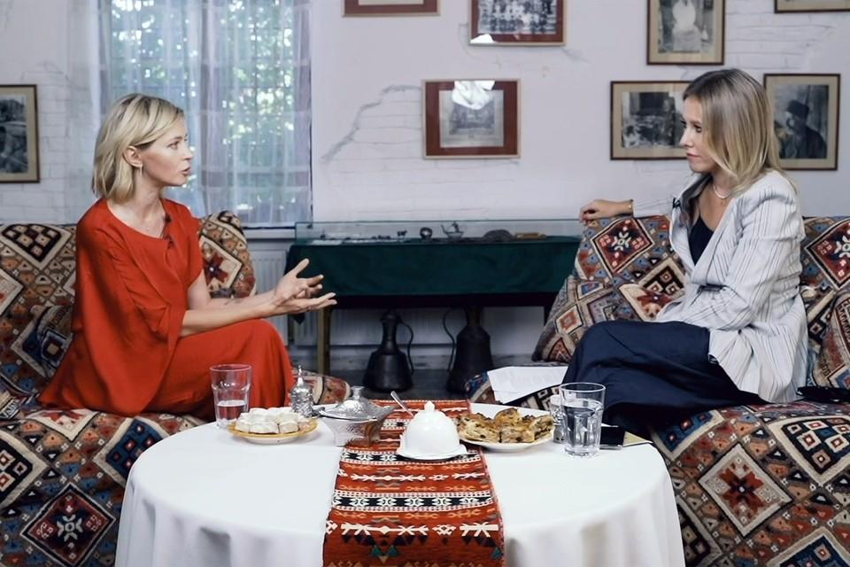 Поклонская согласилась на интервью с Собчак с одним условием — оно пройдет в Крыму