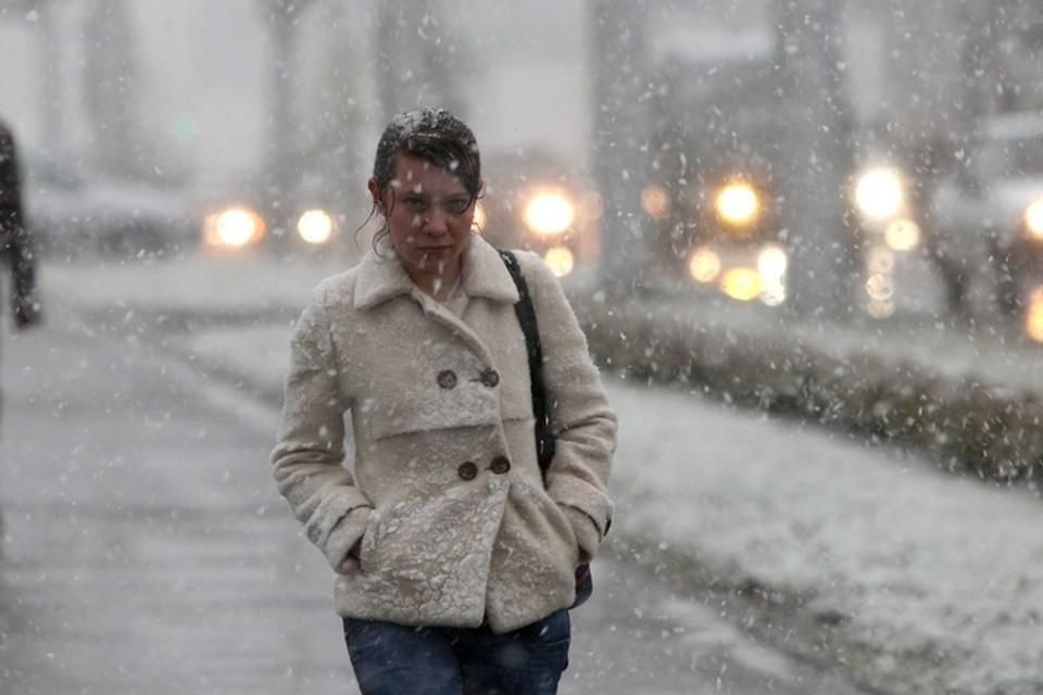 В Кузбассе пройдет мокрый снег
