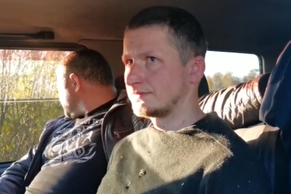 Видео задержания сбежавшего от конвоя заключенного. Фото: ГУ МВД России по Иркутской области