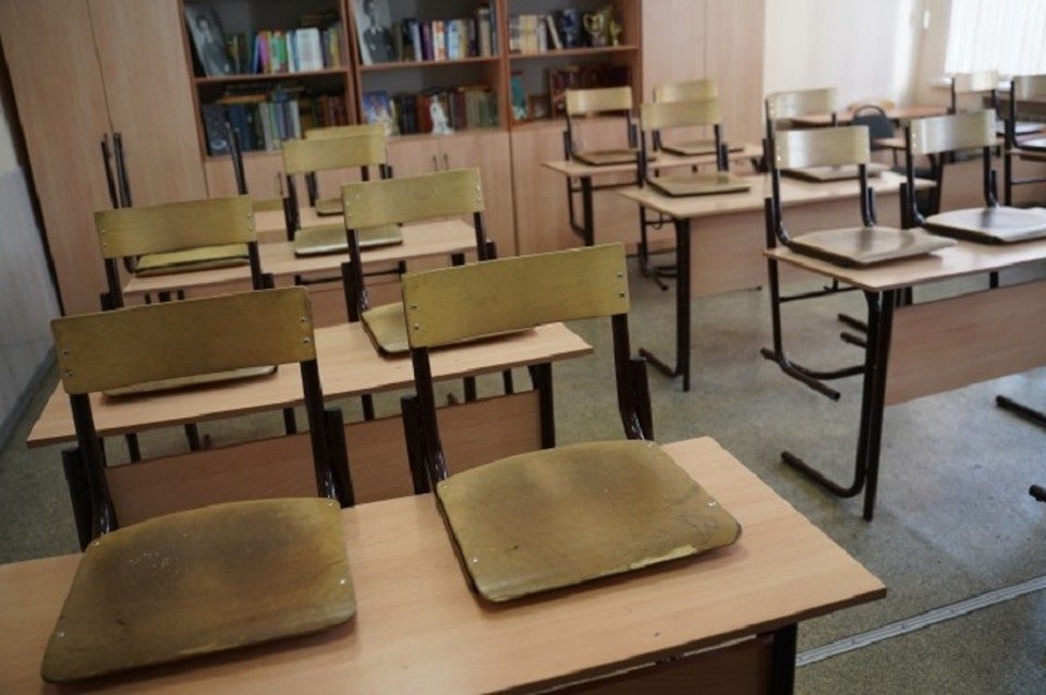 Школа в Листвянке ушла на дистанционное обучение