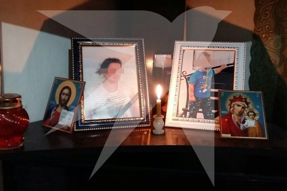 Маму и сына похоронили рядом друг с другом. Фото предоставлено родственниками погибших.