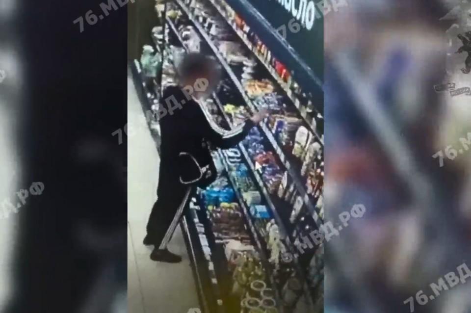 Ярославец украл 45 пачек сливочного масла
