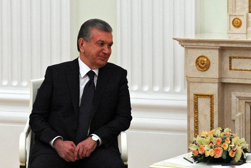 Президент Узбекистана Шавкат Мирзиеев. Фото: Михаил Климентьев/пресс-служба президента РФ/ТАСС