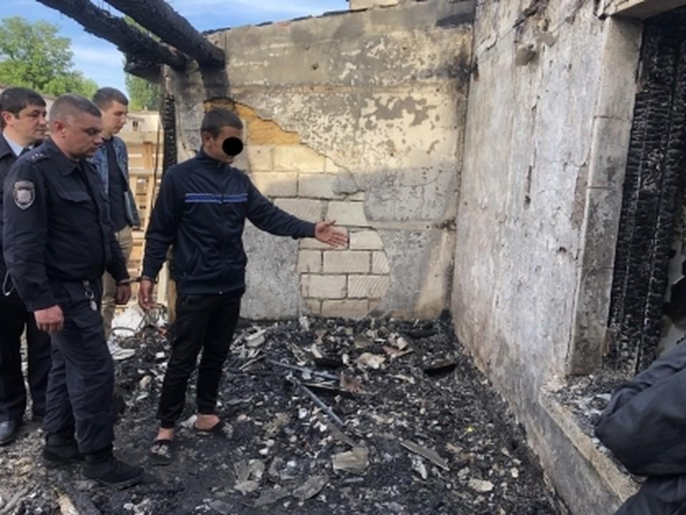 Жителя Симферопольского района осудили за убийство и сожжение сторожа оптовой базы. Фото: официальный сайт Следкома по Крыму и Севастополю.