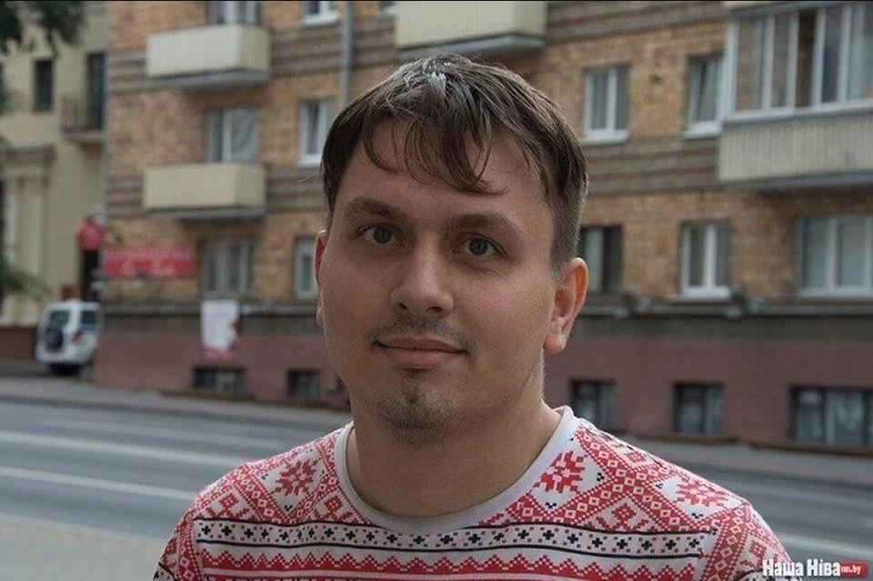 Егор Мартинович. Фото: «Наша Нiва»
