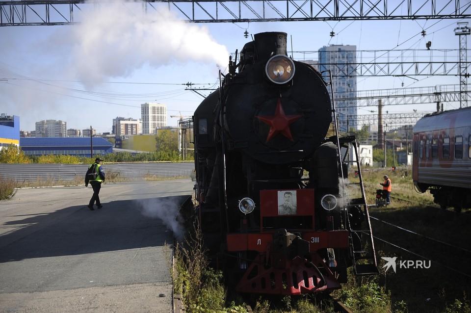 Местом постоянной дислокации раритетов является локомотивное депо Пермь-Сортировочная
