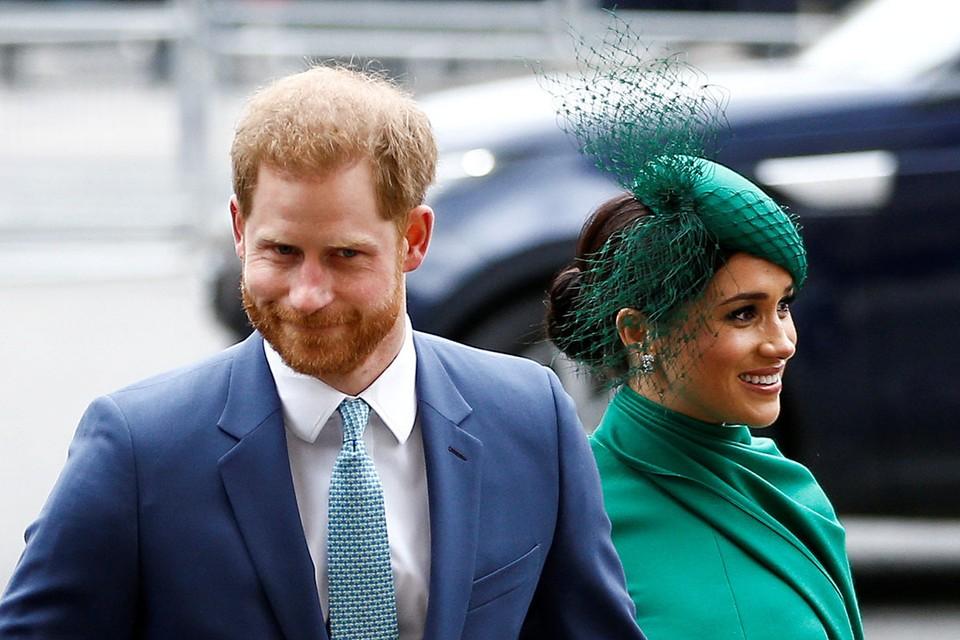 Принц Гарри и его жена Меган Маркл выступили на одном из американских телеканалов.
