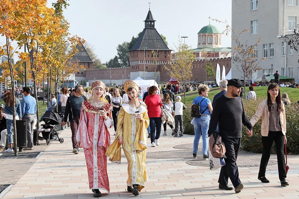 Тульский кремль празднует 500-летний юбилей. Фото: Александр Рюмин/ТАСС