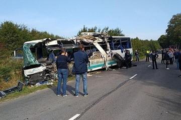 Свидетель автокатастрофы под Калининградом: «Я ехал за автобусом, и вдруг он резко начал уходить влево»
