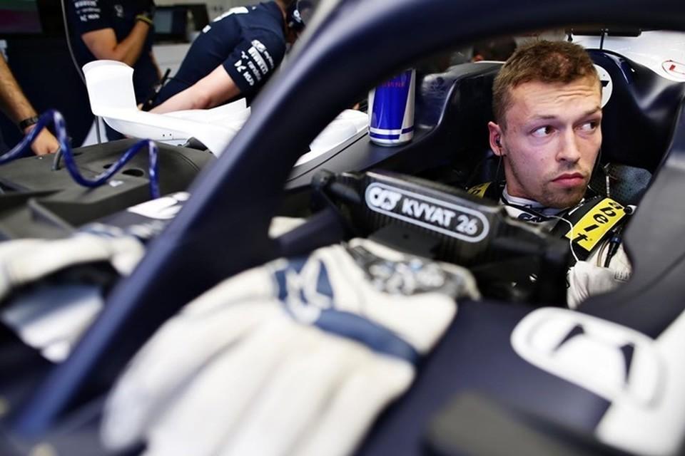 Российский пилот Даниил Квят вошел в десятку после гонки «Формулы-1» в Сочи