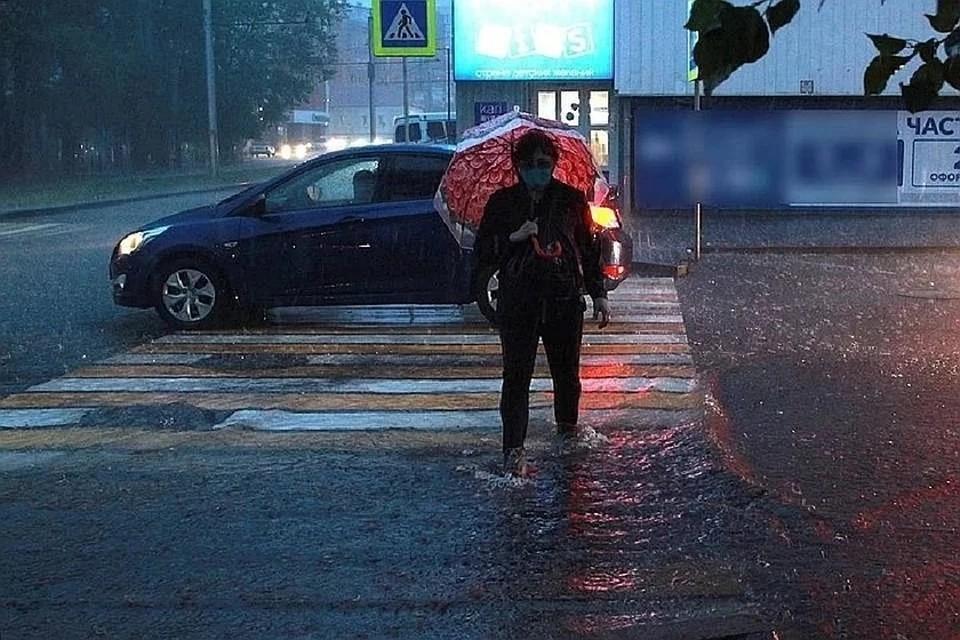 В Новосибирск возвращается дождь.