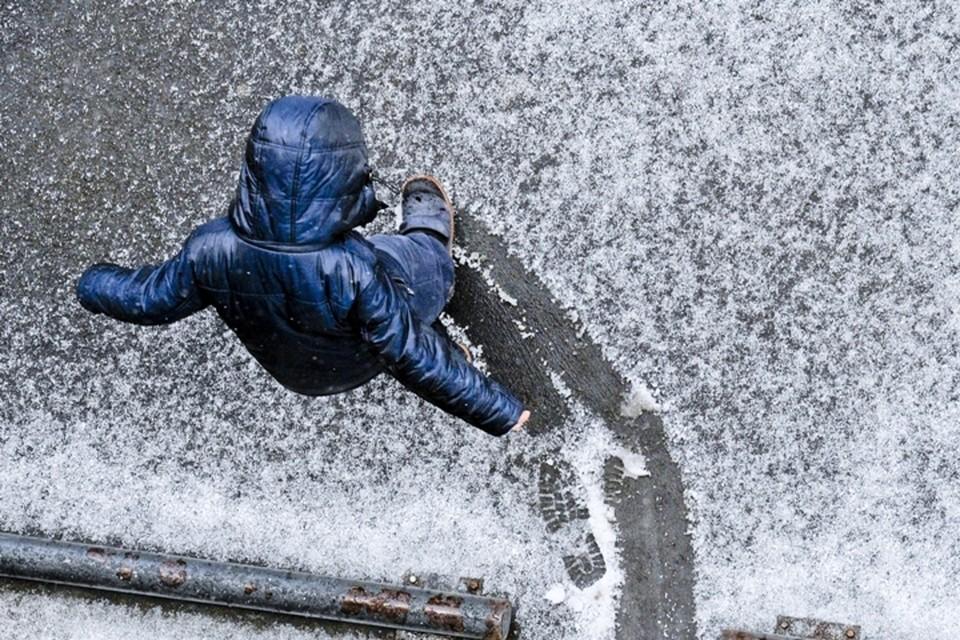 На Кемерово обрушится дождь с мокрым снегом
