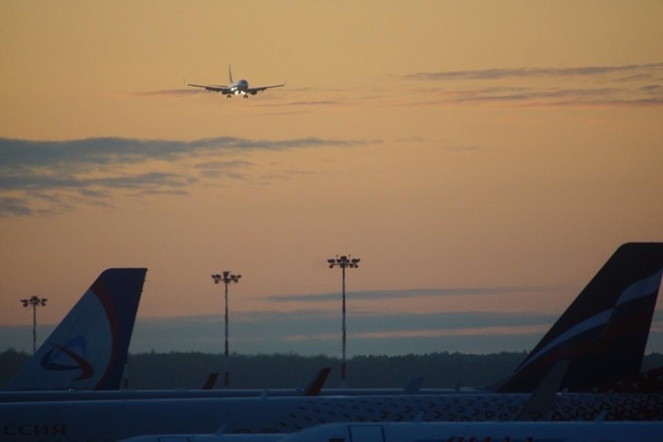 Самолет вылетел в 6:36 утра