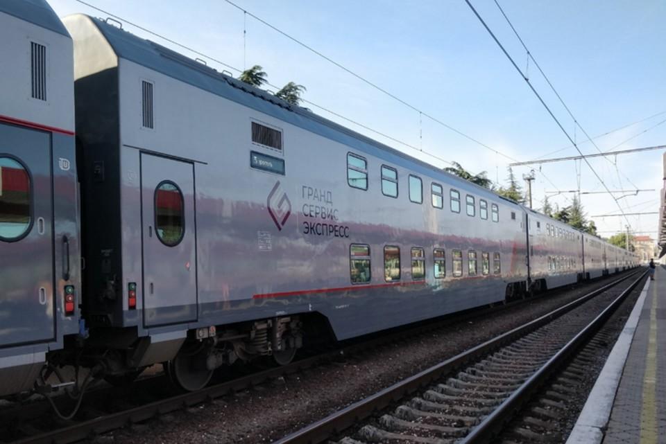 Поезда в Крым начали ездить с декабря 2019 года