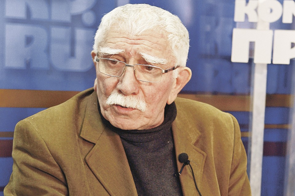 Армен Джигарханян отметил 85-летие в узком кругу.