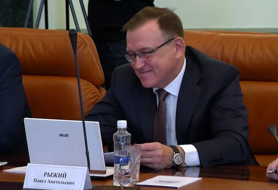 Министр промышленности Челябинской области Павел Рыжий.