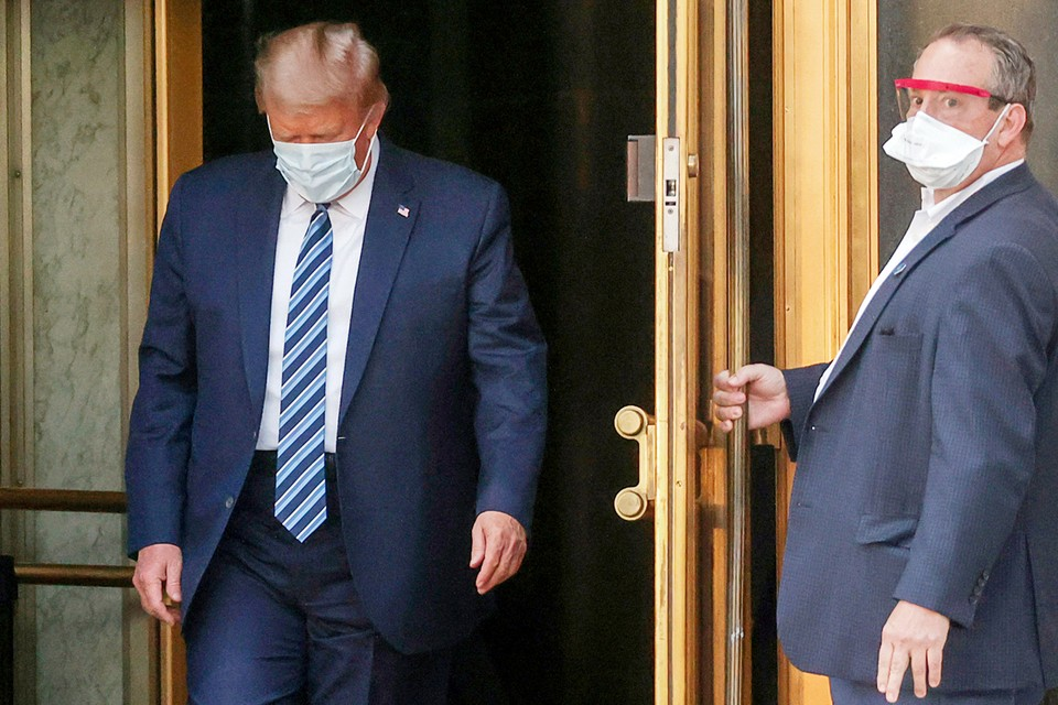 Врач полагает, что заболевание у президента США находится на самой ранней стадии и это не позволяет делать однозначные оптимистичные выводы