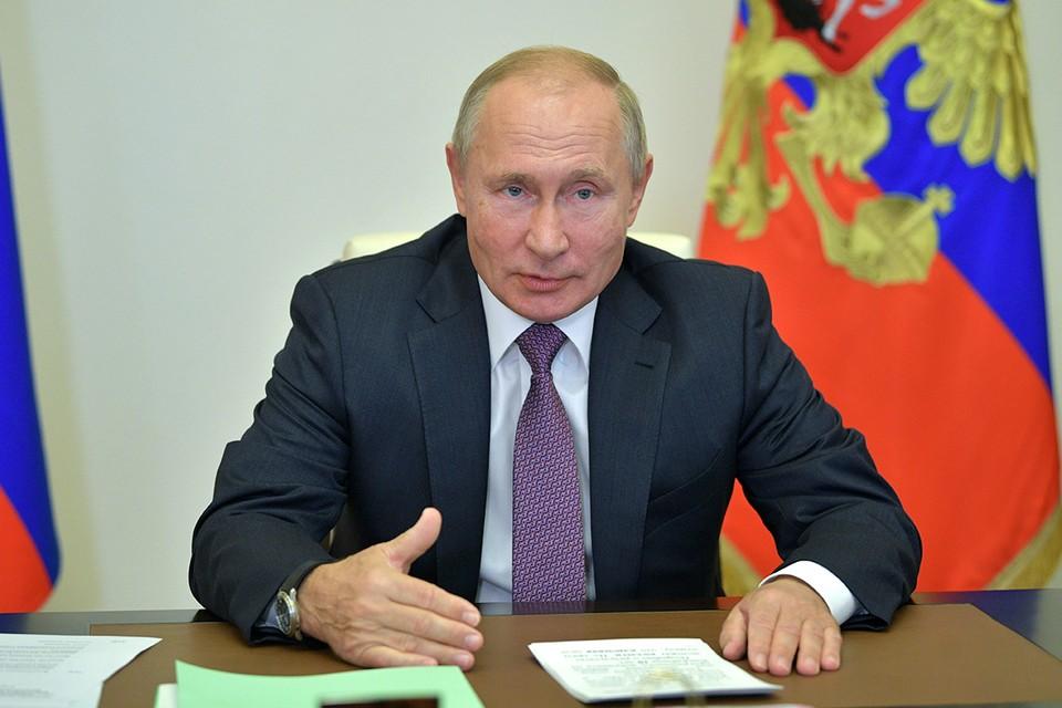 Президент обсудил стратегию развития спорта до 2030 года. Фото: Алексей Дружинин/пресс-служба президента РФ/ТАСС