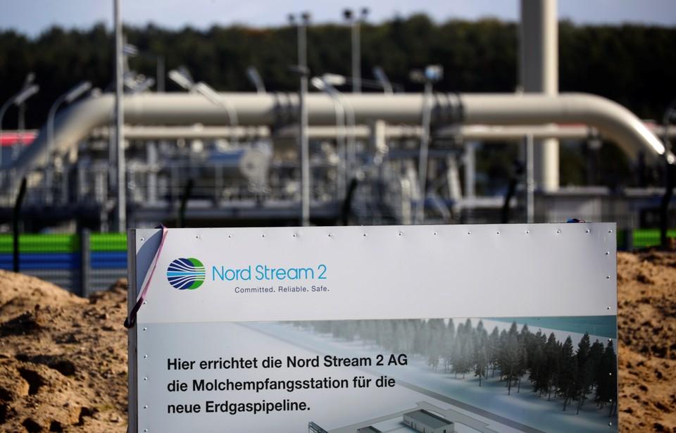 """Штраф был наложен из-за строительства газопровода """"Северный поток-2"""""""