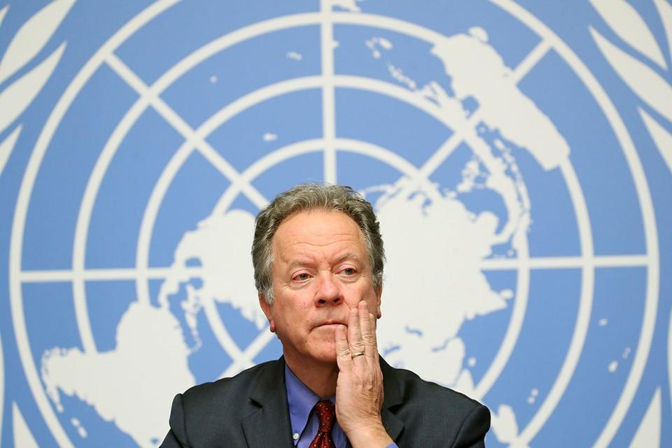 Исполнительный директор Всемирной продовольственной программы (ВПП) Дэвид Бисли