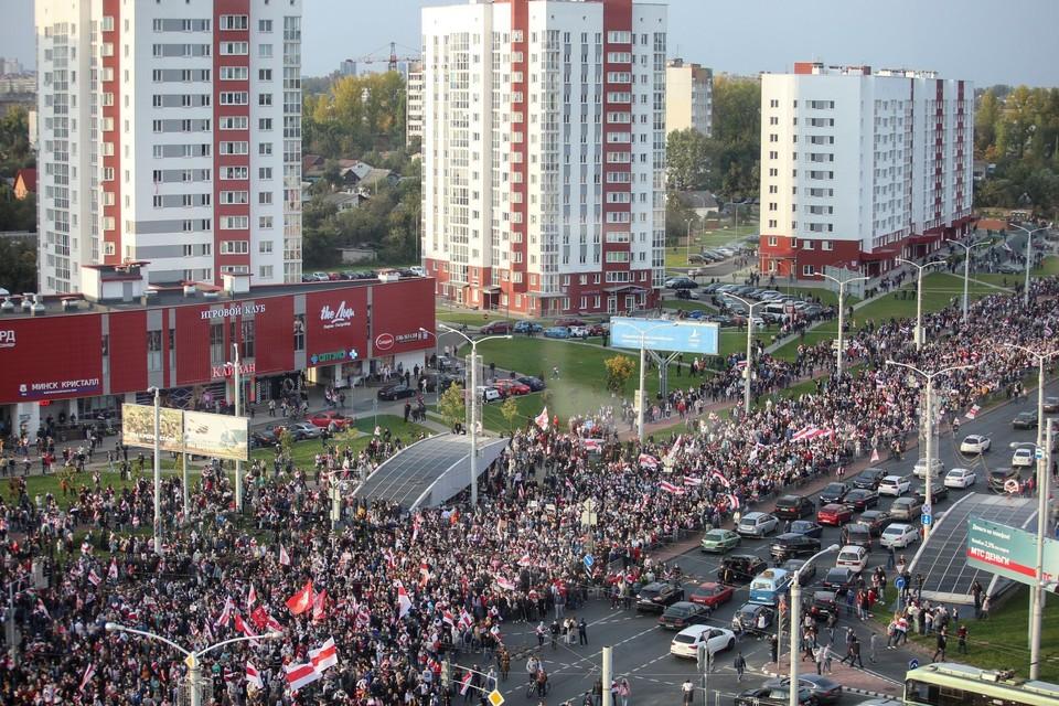 Мы собрали последние новости о протестах в Белоруссии на 10 октября 2020 года