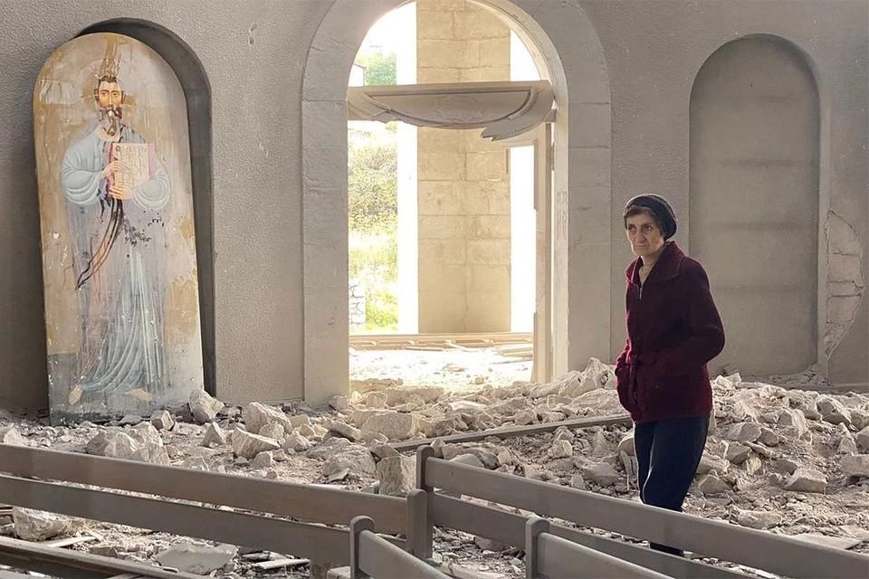 Журналист Юрий Котенок впервые рассказал об ударе в Карабахе