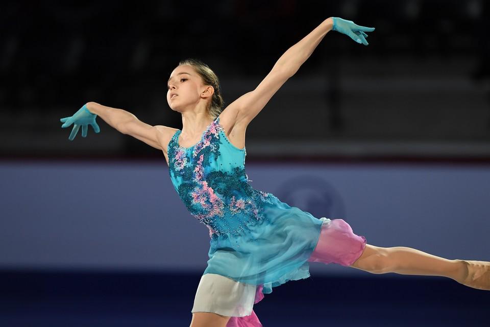 Камила Валиева победила в короткой на Кубке России.
