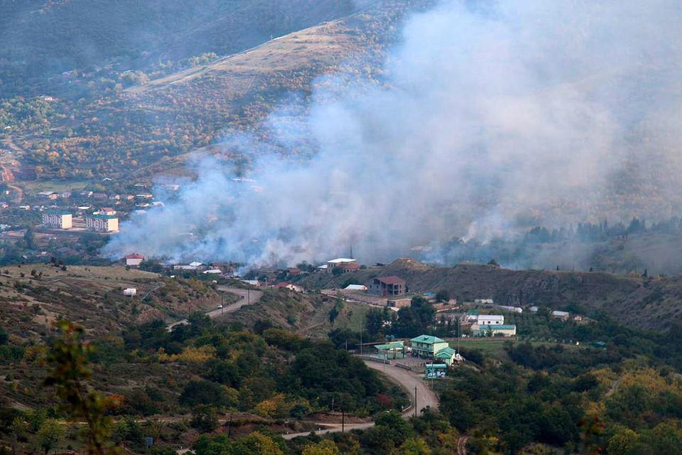 В Гадруте, несмотря на перемирие, продолжаются бои