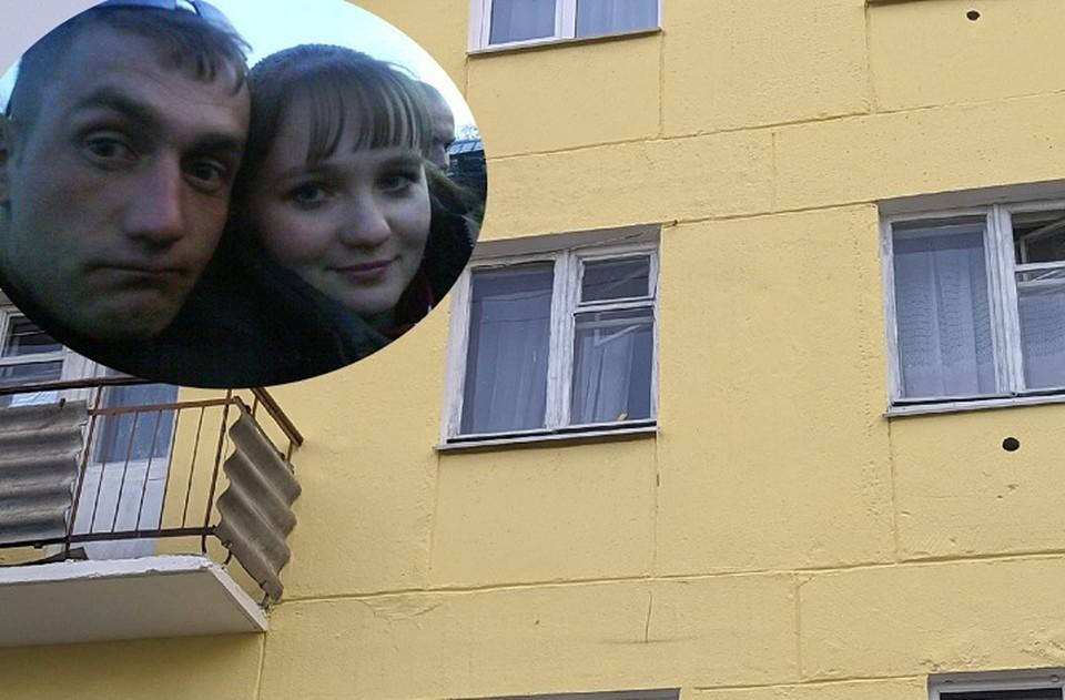 Окна квартиры, где Юля жила с тремя детьми. Фото: Евгений Стоянов, соцсети