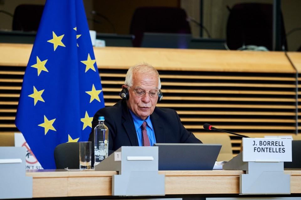 Боррель подчеркнул, что главы дипломатии ЕС были единогласны в вопросе санкций.