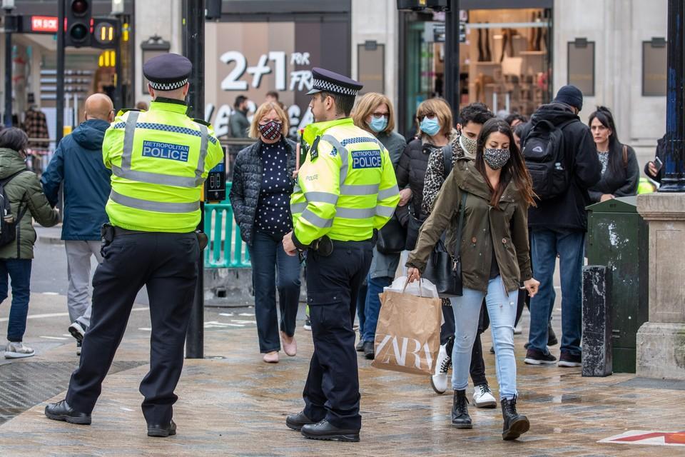 В полицию Лондона поступило сообщение о тревоге в одной из больниц в центре города
