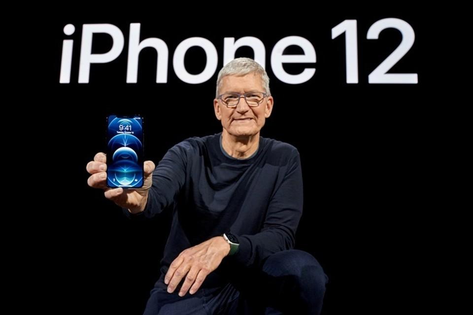 Apple показала, как выглядит iPhone 12