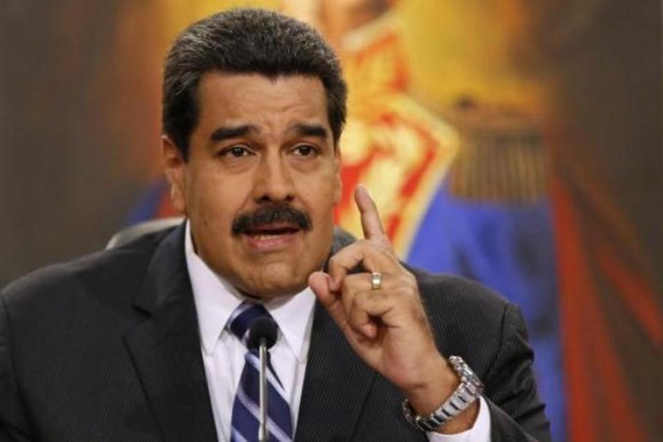Президент Венесуэлы Николас Мадуро