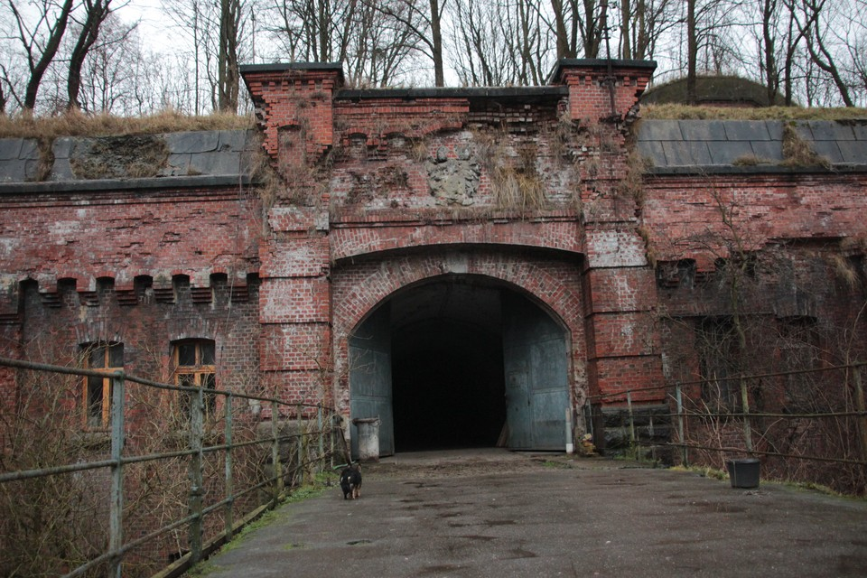 На останки в мешках наткнулись новые собственники форта № 1.