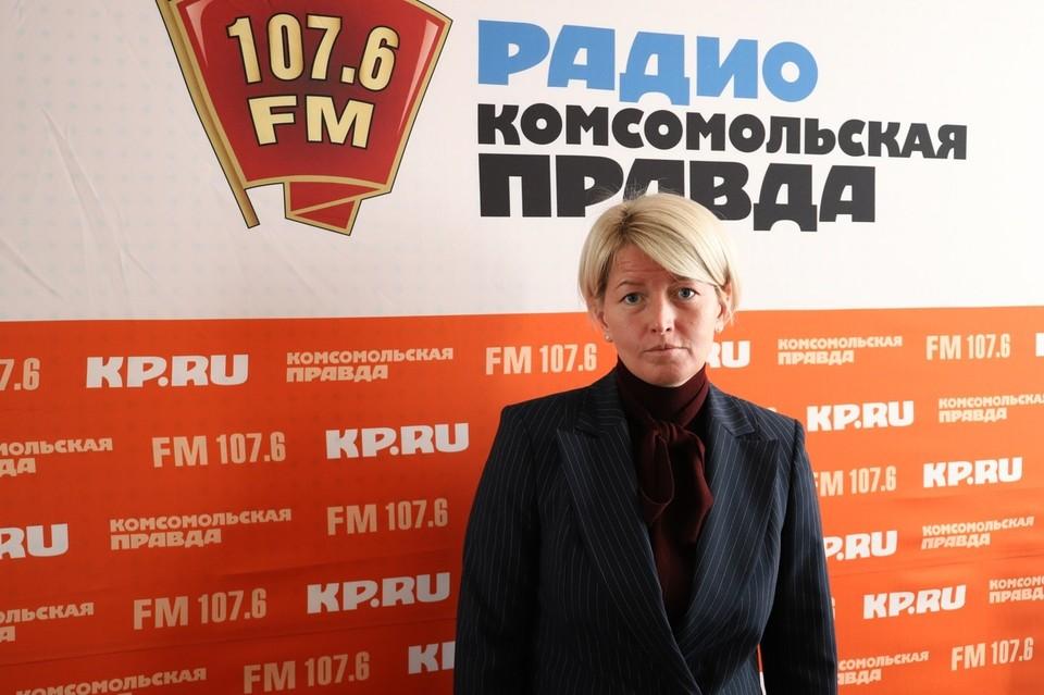 Министр сельского хозяйства и продовльствия Удмуртии Ольга Абрамова