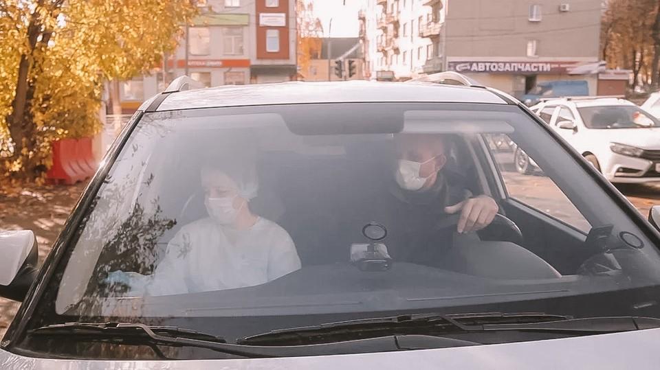 Пока выделены три машины. Фото - владимирское отделение ОНФ.
