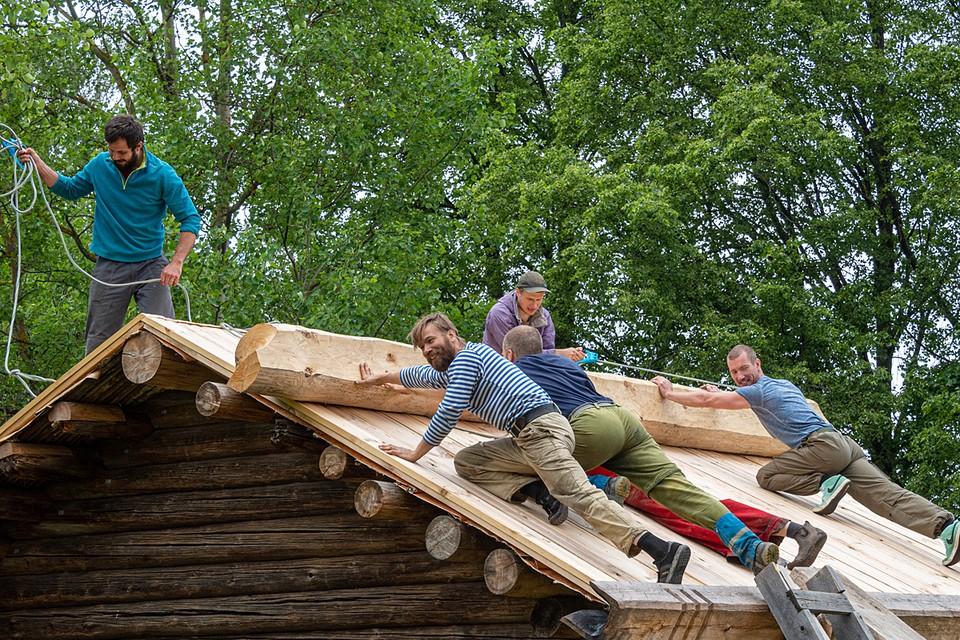 В плане - строительство в пилотных регионах до 20% жилья и социально-культурных объектов «с использованием деревянных конструкций»