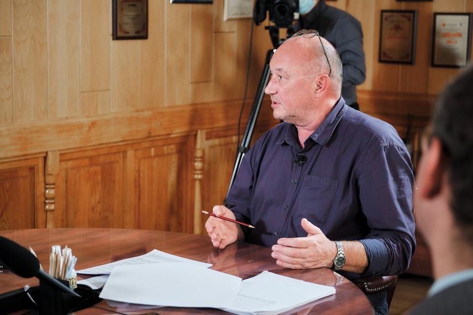 Директор «Новорязанки» Андрей Богданов ответил на вопросы представителей СМИ.