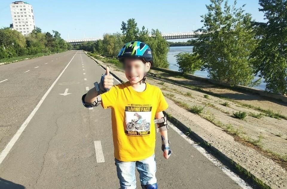 Поиски потерявшегося мальчика закончились благополучно. Фото: УМВД России по Омской области
